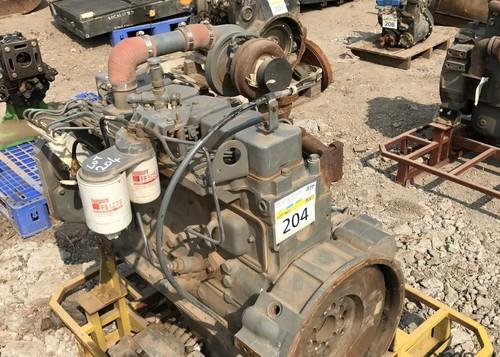 L&T Komatsu PC-200/PC-300 Excavator Engines