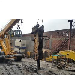 Excavator Hydraulic Rock Breaker