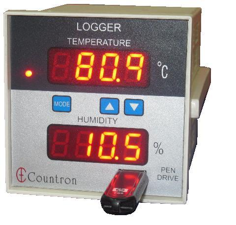 Humidity and Temperature Logger using USB Flash Pe