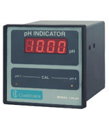 Panel Mounted pH Indicator(without Tx) & LED Displ
