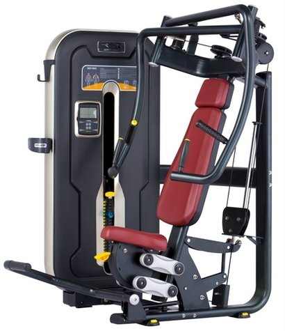 Red Luxury Seated Chest Press