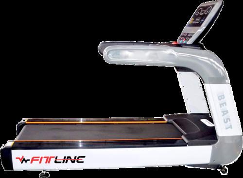 Black Commercial Beast Treadmill