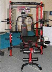 Multi Functional Smith Machine With Bench
