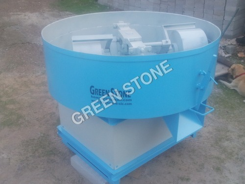 Paver blocks pan mixer
