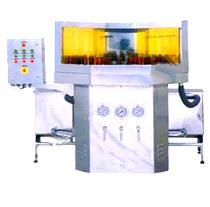 Rotary Semi Automatic Bottle Washing Machine