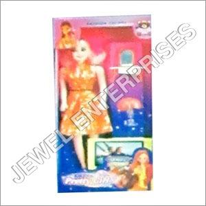 Preety Girl T.V. Set - Lamp Set