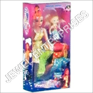 Preety Girl Small Doll With Dress