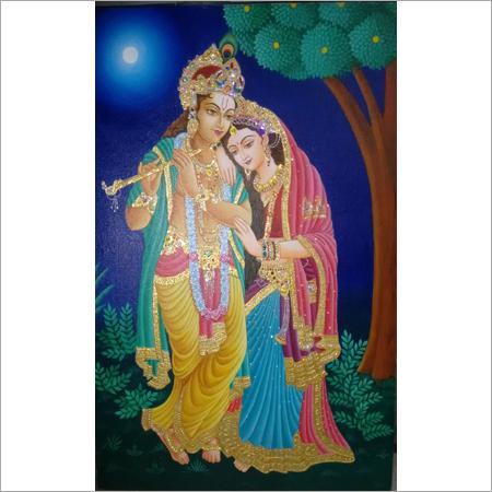 Vrindavan Tanjore Paintings