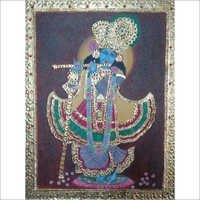 Tanjore Glass Painting