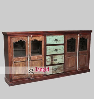 Antique Reproduction Dining Room Cabinets