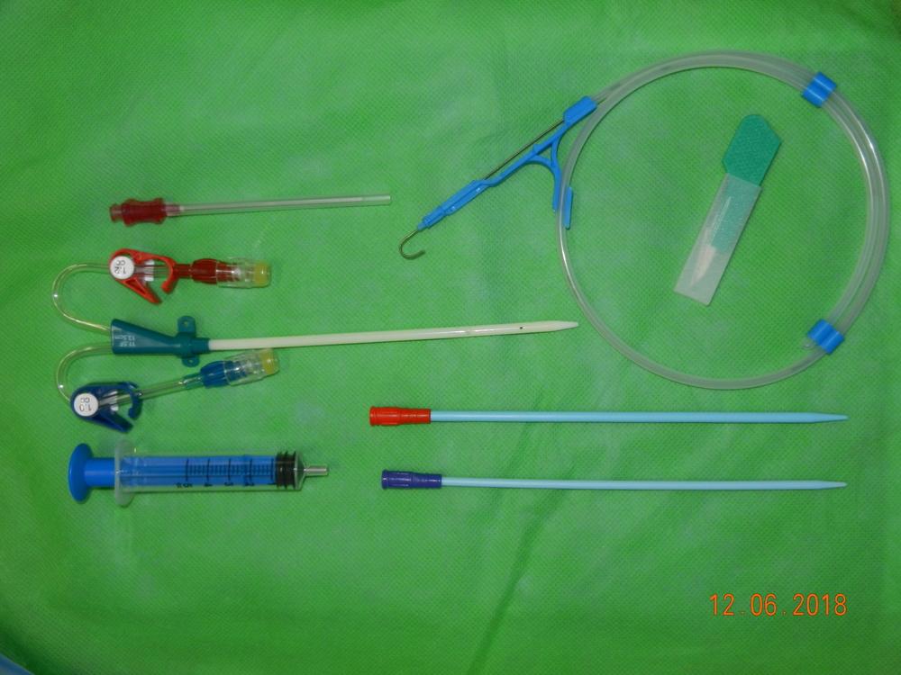 Double Lumen Dialysis Catheter Kit