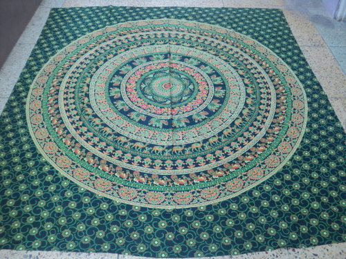 BARMERI PRINTED TAPESTRY FROM INDIA ELEPHANT