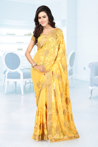 Unique Embroidered Sarees