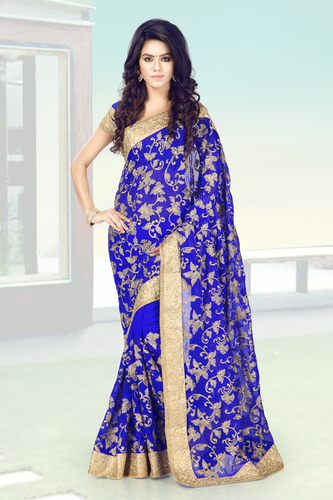 Exclusive Embroidered Sarees Collection