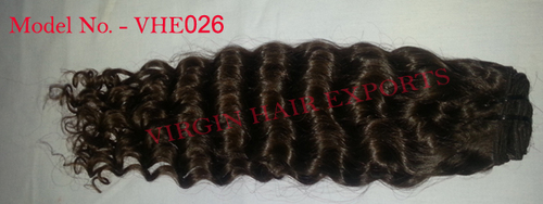 Natural Color Deep Curly Hair Extension