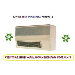fan coil unit vertical high mounted