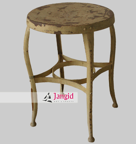 Indian Industrial Metal Stool Design