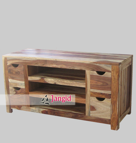 Sheesham Wooden Living Room TV Cabinet