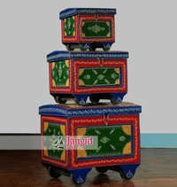 Indian Decorative Painted Box Set