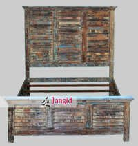 Indian Reclaimed Wooden Bed