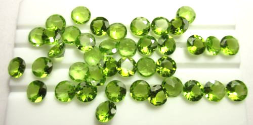 Natural Loose Peridot Gemstones