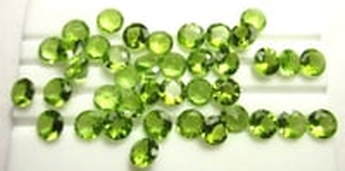 Natural Loose Peridot Gemstones