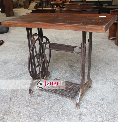 Indian Vintage Sewing Machine Converted Table