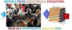 Poultry Evaportaive Cooling Pad