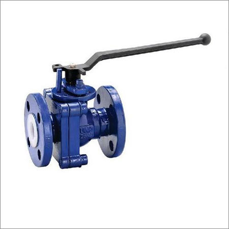 PFA And PVDF Lined Ball Valve