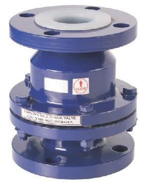 Pvdf Lined Ball Check Valve