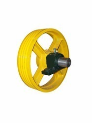 Diverter Pulley With Shaft & Bracket