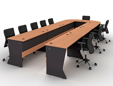 Godrej Modular Conference Table Godrej Modular Conference Table - Conference table india