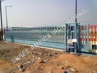 Electric Operating Sliding Gate