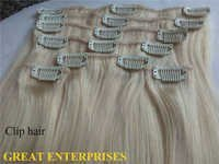 Blonde Clip Hair Extension