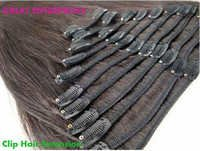 Black Clip Hair Extension