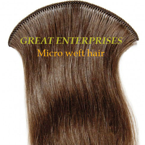 Micro Weft Natural Curly Hair Full Length