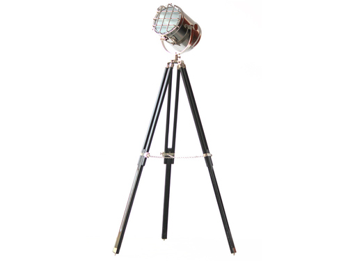Hollywood Studio Photography Floor Lamp Searchlight Black TripodHEADH