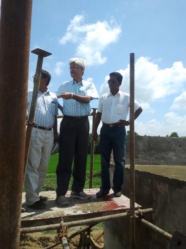 Railway CEO,cheap Engineer visit at Bridge17.sec3.