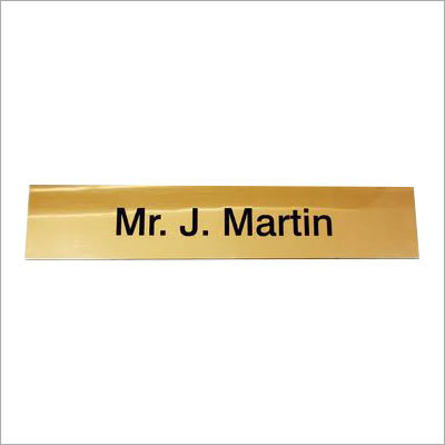 Industrial Metal Name plates