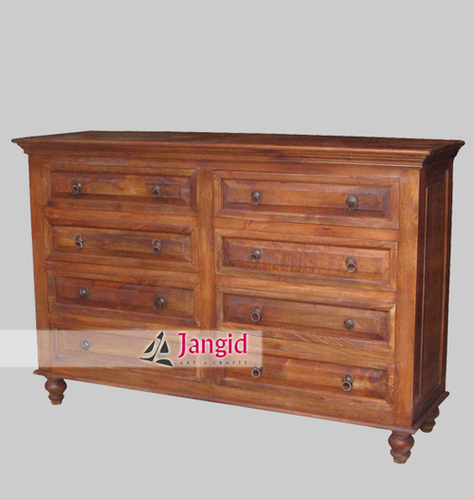 Mango Wood Indian Drawer Chest Design