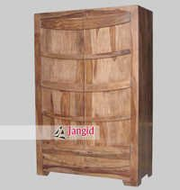 Indian Wooden Folding Bedroom Wardrobe