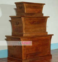 Solid Mango Wooden Trunk Chest