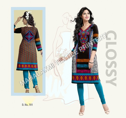 Pure Cotton Printed Kurtis