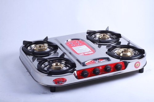 Four Burner Oval Gas Stove