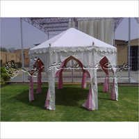 Arched garden tent