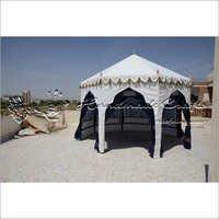 Arched pavillion