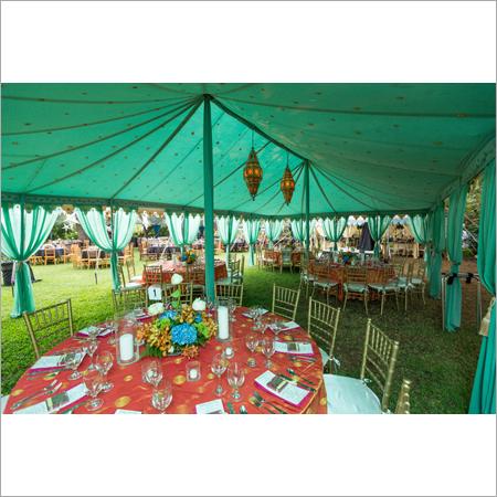 Raj Tent interior