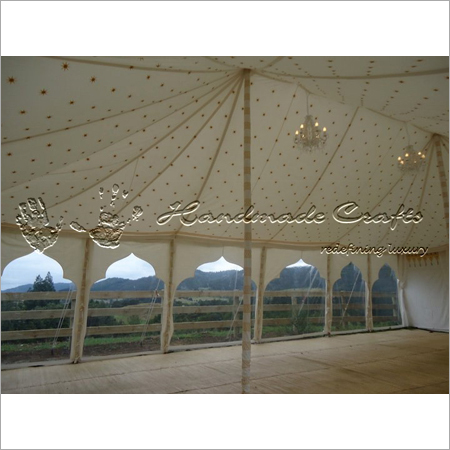 Wedding Marquees with transparent walls