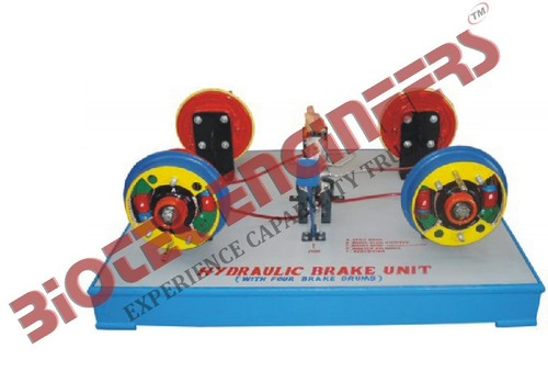 Hydraulic Brake Unit (Four Brake Drums)