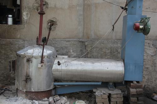 Modified Bolier Based Mawa Making Machine